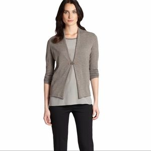 Peserico Cashmere/Wool Cardigan With Silk top
